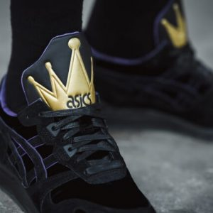 ASICS TIGER GEL LYTE THE EVIL QUEEN BLACK